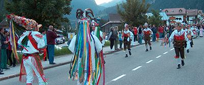 Carnival on the alps